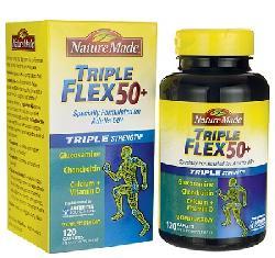 Triple Flex 50+ Nature Made – Viên uống hỗ trợ điều trị xương khớp