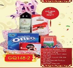 Giỏ hộp quà tết Như Ý GQ148-2