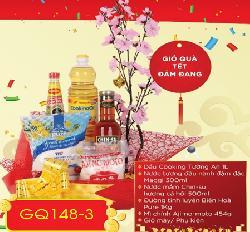 Giỏ hộp quà tết Đảm Đang GQ148-3