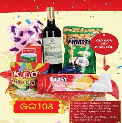 Giỏ hộp quà tết Phúc Lộc GQ108