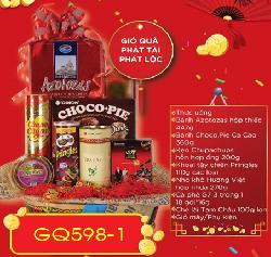 Giỏ Quà Phát Tài Phát Lộc - GQ598-1