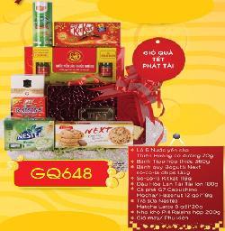 Giỏ quà tết Phát Tài - GQ648