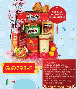 Giỏ quà tết An Khang - Thịnh Vượng GQ798-2