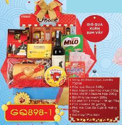 Giỏ quà tết Xuân Sum Vầy - GQ898-1