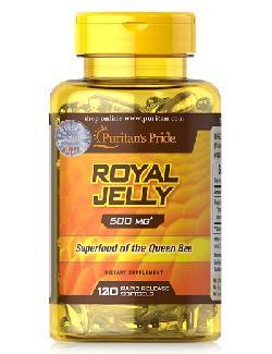 Royal jelly 500 mg Puritan Pride lọ 120 viên siêu thực phẩm từ ong chúa