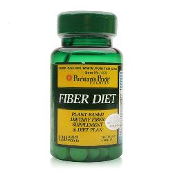 Giảm cân của mỹ fiber diet puritans pride giúp đốt cháy mỡ thừa lọ 120 viên