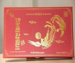 An cung ngưu hoàng hoàn Hàn Quốc hộp màu đỏ loại 60 viên