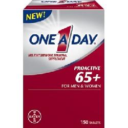 Vitamin tổng hợp One A Day Proactive 65+ for men and women của Mỹ