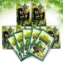 Nước uống bổ gan giải độc Hovenia Dulcis Hàn Quốc hộp 30 gói