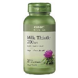 Viên uống giải độc gan GNC Milk Thistle 200mg hộp 100 viên của Mỹ