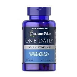 Men multivitamin one daily puritan pride vitamin cho nam giới lọ 100 viên