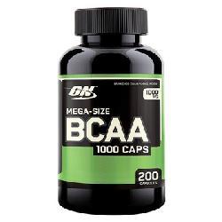 Viên uống phục hồi và tăng cường cơ bắp Optimum BCAA 1000 Caps lọ 200 viên