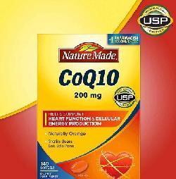 Viên uống bổ tim mạch CoQ10 Nature Made 200 mg 140 viên của Mỹ