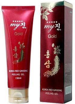 Tẩy da chết hồng sâm My Gold 130ml Hàn Quốc