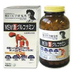 Viên trị đau nhức xương khớp MSM Glucosamine Noguchi Nhật Bản