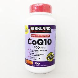 Viên Uống Hỗ Trợ Tim Mạch Kirkland CoQ10 300mg Hộp 100 Viên Của Mỹ
