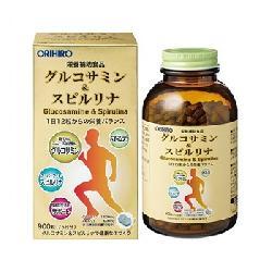Viên uống bổ xương khớp Glucosamine & Spirulina Orihiro 900 viên