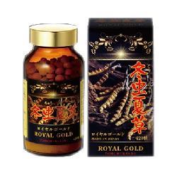 Royal Gold Tohchukasou Viên Uống Đông Trùng Hạ Thảo Nhật Bản 420 Viên