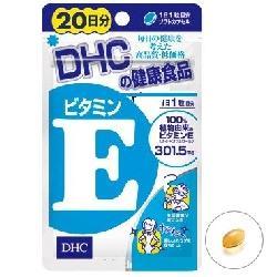 Viên Uống DHC Vitamin E Làm Đẹp Da Với Túi 40 Viên Trong 20 Ngày