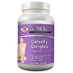 Viên nang Detoxify Complex 60 viên hỗ trợ thanh lọc cơ thể toàn diện