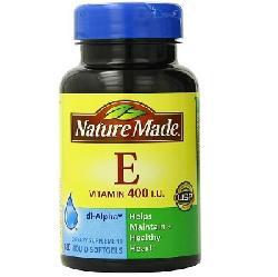 Vitamin E 400 IU Nature Made Hộp 180 Viên Của Mỹ Làm Đẹp Da