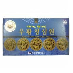 An cung ngưu hoàng hoàn IKSU Hàn Quốc hộp xanh 10 viên