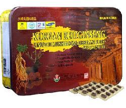 Viên Hồng sâm linh chi Bio 60 viên Hàn Quốc cao cấp chính hãng