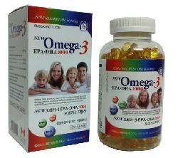 Tinh Dầu Cá Hồi Omega3 EPA – DHA1000 Hàn Quốc Sản Xuất Bởi Canada