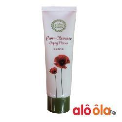 Sữa rửa mặt Foam Cleanser Poppy Flower Hàn Quốc chiết xuất hoa anh túc