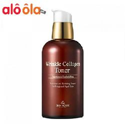 Nước hoa hồng Wrinkle Collagen Toner giúp da săn chắc hiệu quả