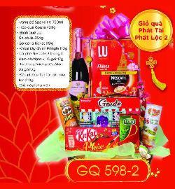 Giỏ Quà Phát Tài Phát Lộc - GQ598-2
