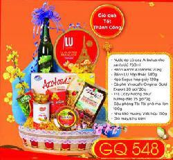 Giỏ Quà Tết Thành Công - GQ548