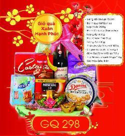 Giỏ Quà Xuân Hạnh Phúc - GQ298