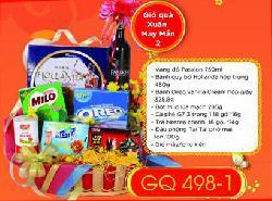 Giỏ Quà Tết Xuân May Mắn - GQ498-2