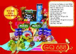 Giỏ Quà Tết Baby Mạnh Khỏe - CQ688