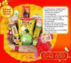 Giỏ Quà Đặc Sản Tết Việt - CQ650