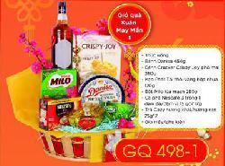 Giỏ Quà Tết Xuân May Mắn - GQ498-1