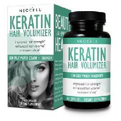 Viên Uống Kích Thích Mọc Tóc, Giảm Rụng Tóc Neocell Keratin Hair Volumizer Của Mỹ