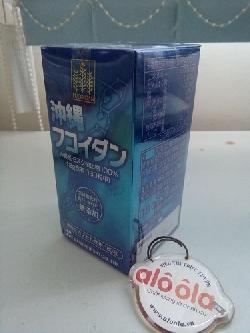 Okinawa Fucoidan nhật bản hộp 180 viên (hàng nhập khẩu)
