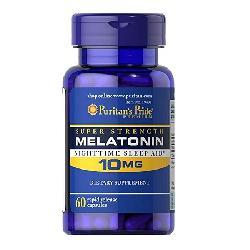 Thực Phẩm Chức Năng Chữa Mất Ngủ Puritan Pride Melatonin 10mg 60 Viên