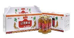 Nước hồng sâm có củ KGS cao cấp 120ml x 10 chai chính hãng Hàn Quốc