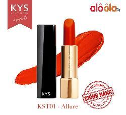 Son lỳ siêu mịn môi KYS Chocolate đỏ cam – Allure hot nhất hiện nay