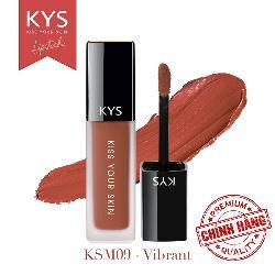 Son kem KYS Chocolate cam hồng đất - vibrant được ưa chuộng nhất