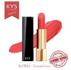Son lì siêu mịn môi KYS Chocolate – Hồng Cam Innocence chính hãng