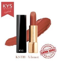 Son lì siêu mịn môi KYS Chocolate Vibrant cam hồng đất