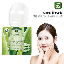 Mặt nạ sữa nha đam Puclair Aloe Milk Mask Hàn Quốc
