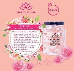 Mặt nạ tổ yến collagen hoa hồng 100ml dưỡng ẩm, trắng da