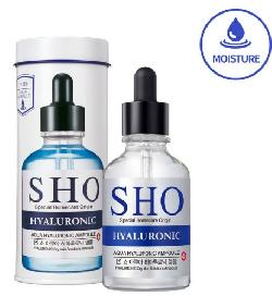 Tinh chất cấp ẩm Sho Hyaluronic Aqua Hyaluronic Ampoule giúp giữ ẩm cho da