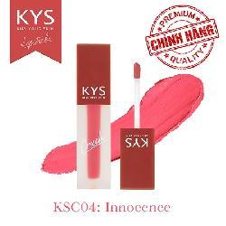 Son kem KYS Chocolate Crush hồng cam – Innocence chính hãng