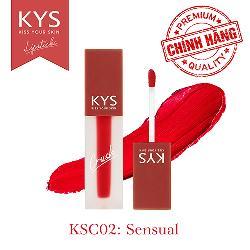 Son kem KYS Chocolate Crush đỏ lạnh – Sensual được ưa chuộng nhất